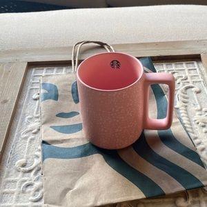 Starbucks Matte Pink Speckled Mug - 🎀🎀🎀
